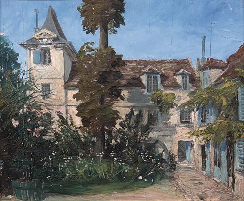 peinture de la maison d'Armande Béjart